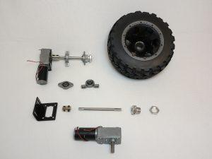 raspberry Pi big rob机器人- 4×4电动机驱动