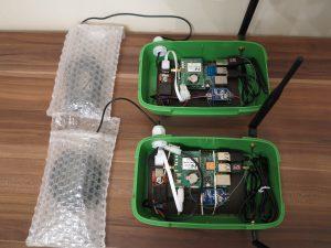 使用RASPBERRY PI计算机和RTKLIB进行精确的GPS定位-移动GPS单元的配置