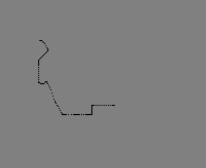 如何根据机器人左右轮的编码计数在图像上画轨迹